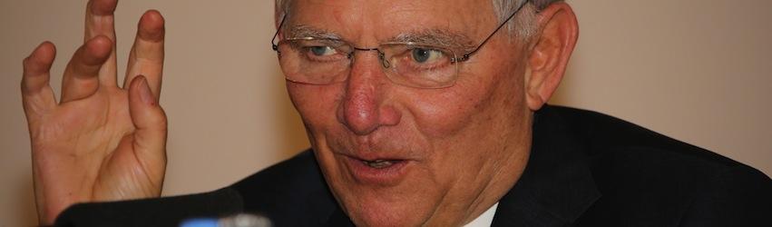 Wolfgang Schäuble liest | seinsart