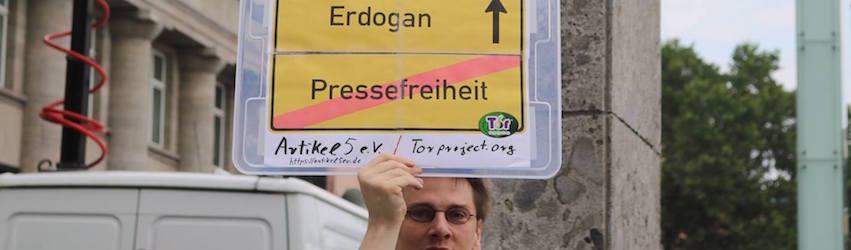 Demo gegen Erdogan |seinsart