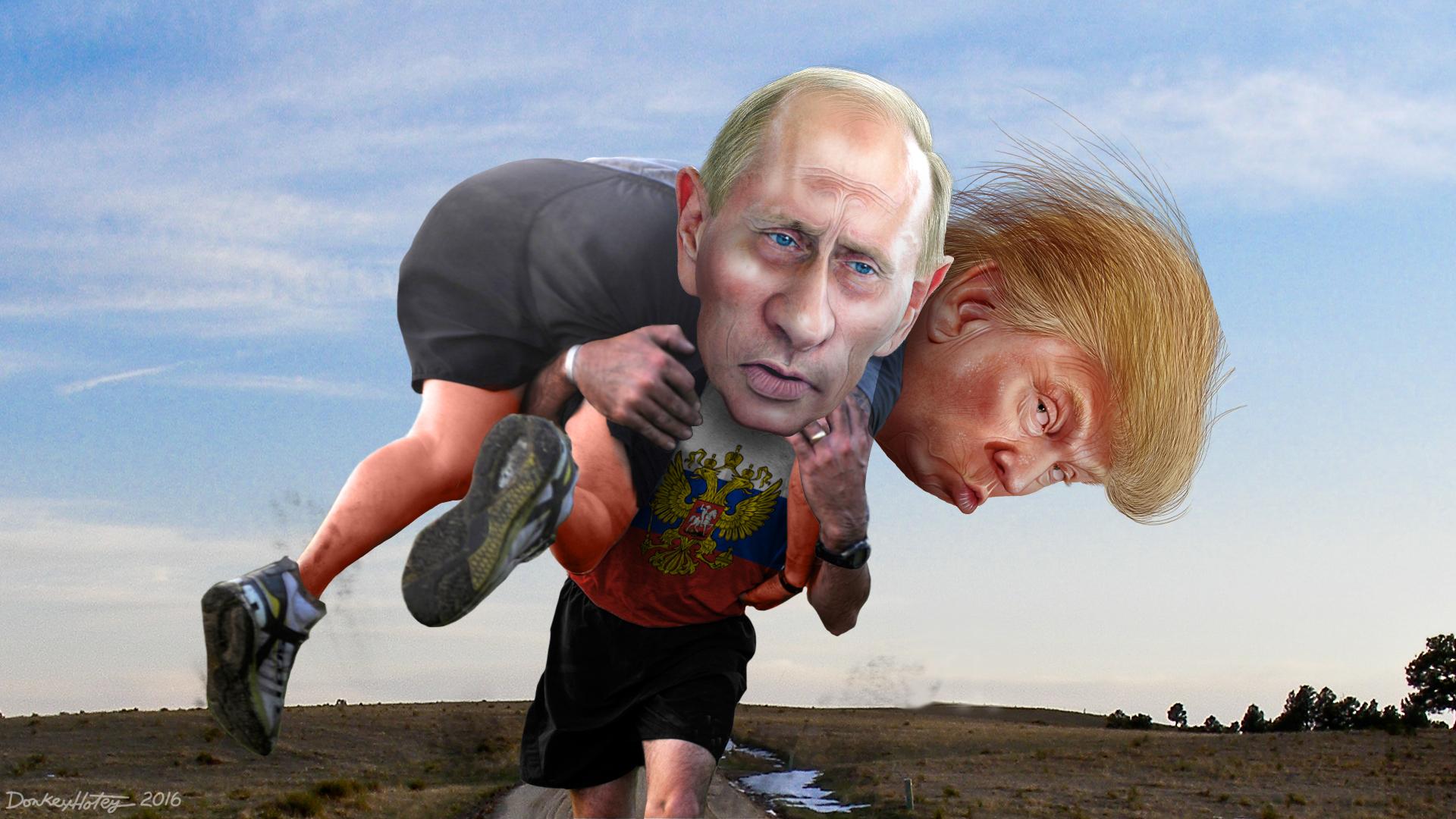 Putin und Trump | seinsart